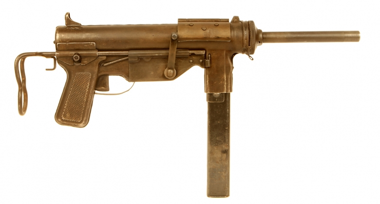 Deactivated WWII US M3 Grease Gun
