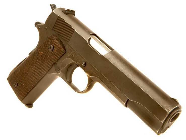 Deactivated WWII D-Day Era US Colt 1911A1