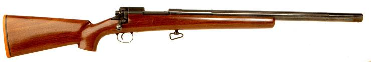 Rare Kengil Heavy Barrel Enfield Bolt Action Rifle