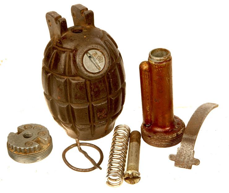Inert WWII British No36M Mills Grenade