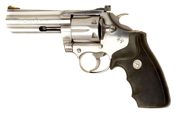 Deactivated Colt King Cobra .357 Magnum Revolver - Modern ...