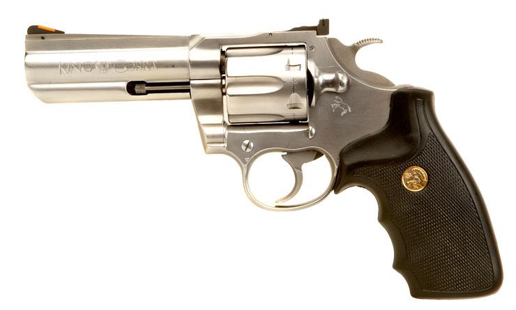 Deactivated Colt King Cobra .357 Magnum Revolver. - Modern ...