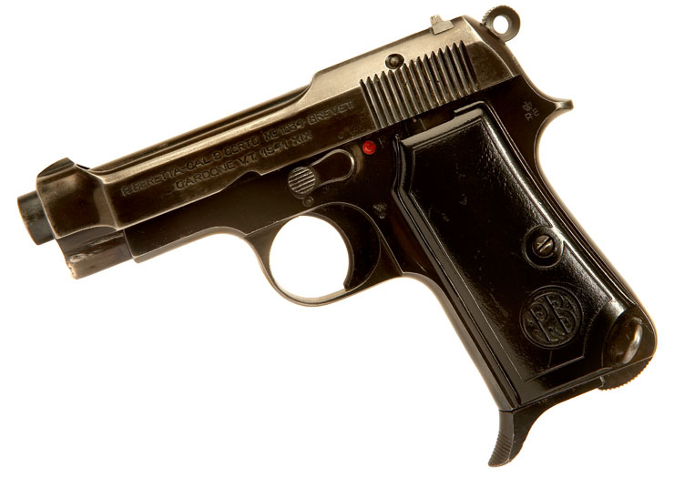 Just Arrived, Deactivated Italian Beretta M1934 Pistol