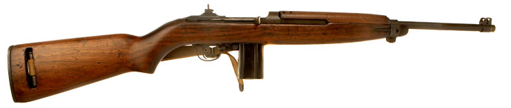 Deactivated WWII D-Day era US made M1 Carbine