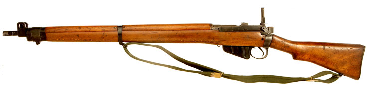 Deactivated WWII British Lee Enfield No4 MK1 .303 Rifle