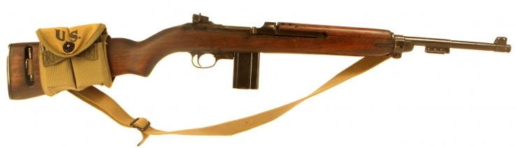 Deactivated WWII US M1 Carbine