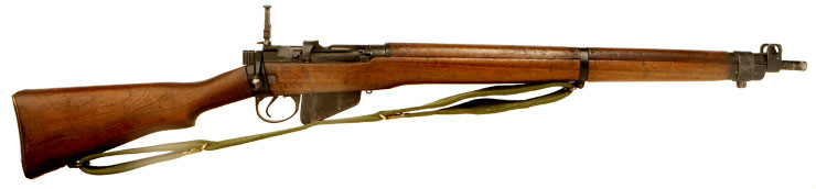 Deactivated WWII Lee Enfield No4 MKI .303 Rifle