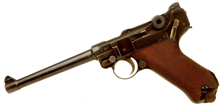 Deactivated WWI German Navy Luger
