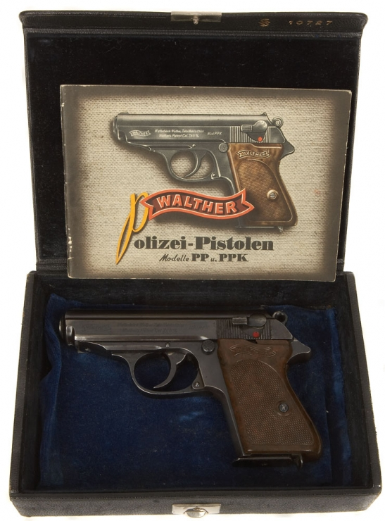 deactivated nazi walther ppk with box original walther manual rh deactivated guns co uk Walther PPK Silencer Walther PPK 9Mm