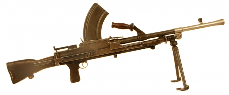Deactivated WWII Bren Marked to The New Zealand Army