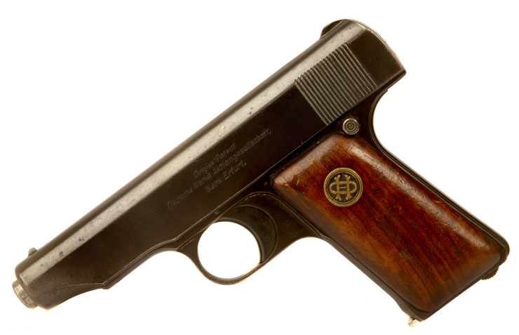 Just Arrived, Deactivated WWII Era Czech Military Contract Ortgies Pistol