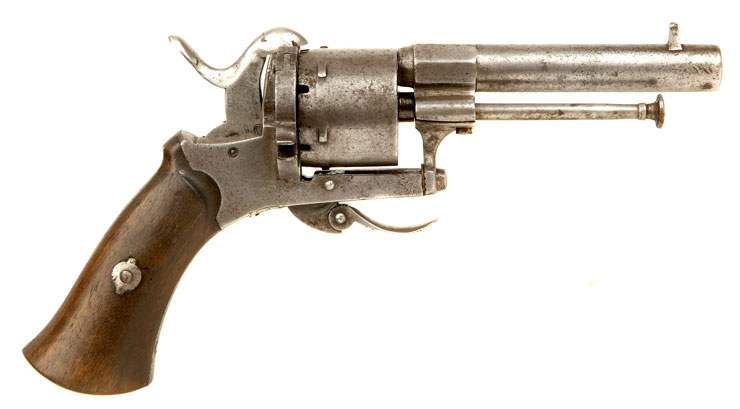 Faust Pistole Pinfire Revolver