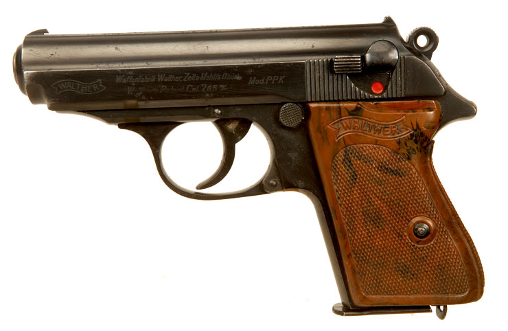 Just Arrived, Deactivated Nazi Police Walther PPK