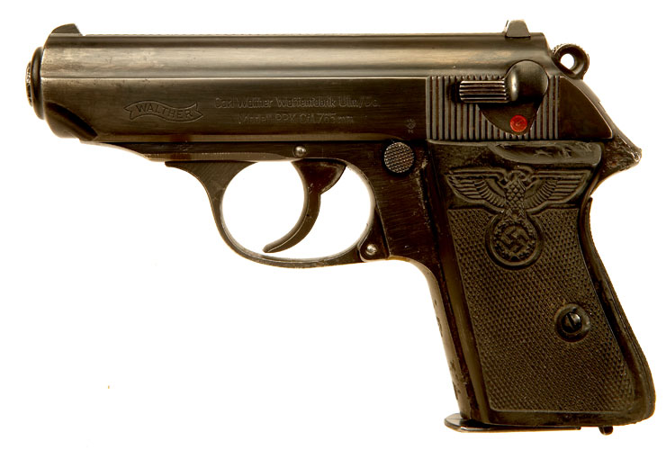 Deactivated WWII Walther PPK