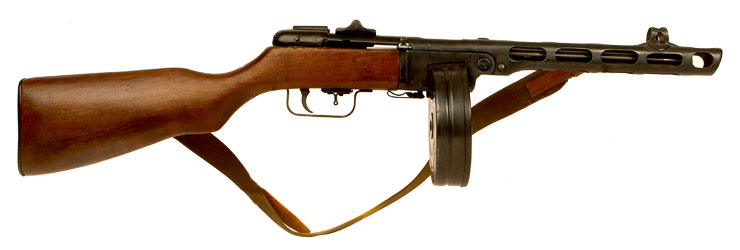 Deactivated WWII German Captured Russian PPSH41