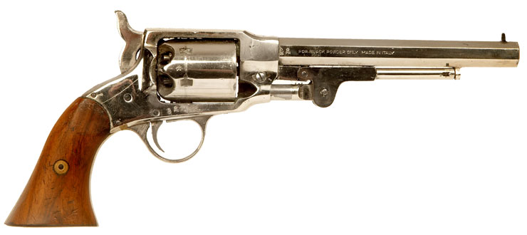 Deactivated Euroarms, Rogers & Spencer .44 percussion revolver