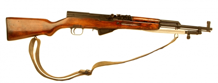 Deactivated Russian SKS Rifle