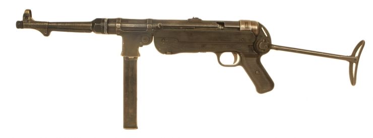 Just Arrived, Deactivated WWII Slab Sided MP40
