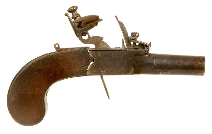 British Flintlock Pistol