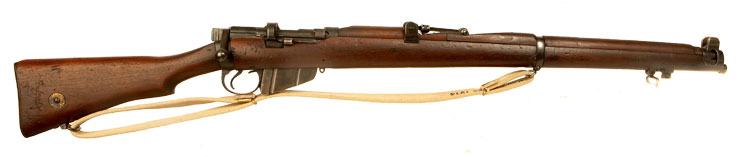 Deactivated WWI & WWII SMLE issued to the 3rd Cheshire Regiment