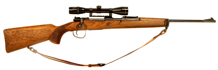 Deactivated WWII German K98 with scope