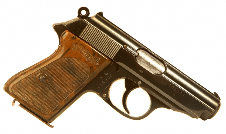 Deactivated WWII Very Rare SS Issued Walther PPK
