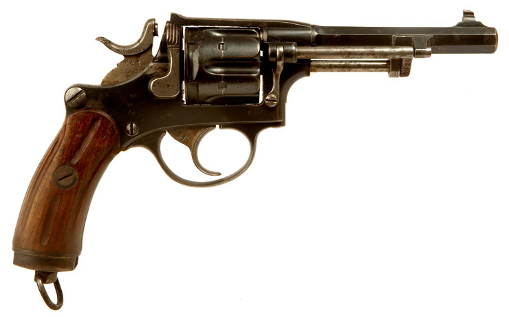 Deactivated WWI Swiss Military Marked Model 1882 Revolver