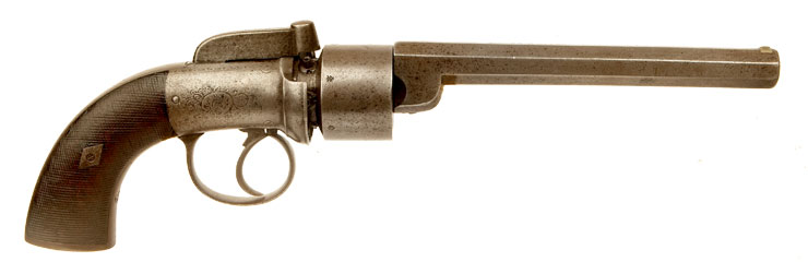 British Transitional Percussion 6 shot revolver