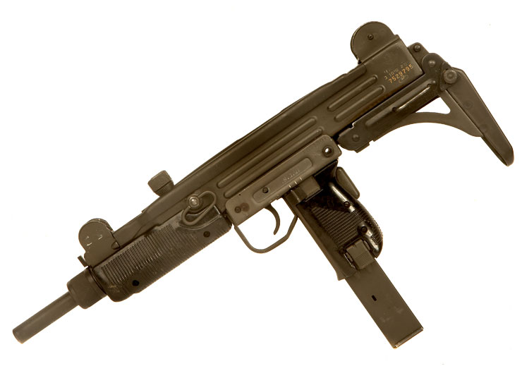 Deactivated Israeli UZI SMG - Modern Deactivated Guns