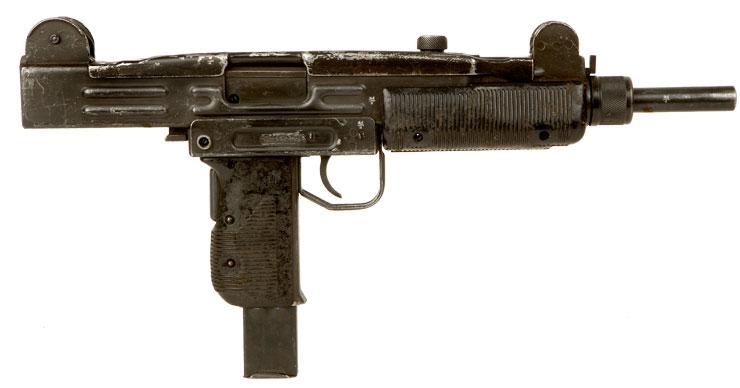 Deactivated Fn Made Uzi 9mm Submachine Gun Modern