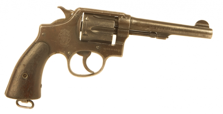 Deactivated WWII Leand Lease Smith & Wesson M&P Revolver - Issued Canadian Forces