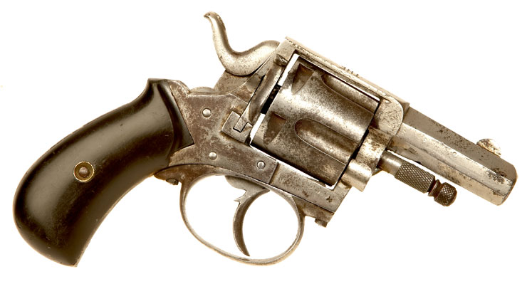 Deactivated British made Bull-Dog Revolver