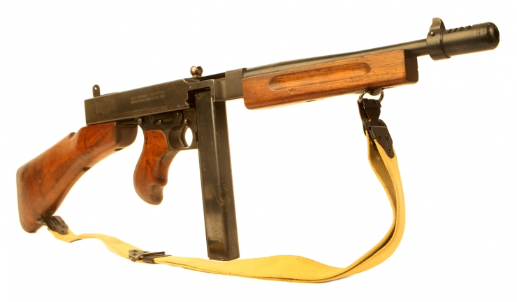 Deactivated WWII US Thompson M1928A1