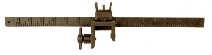 WWII Vickers Machine Gun Foresight Deflection Bar