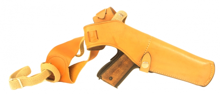 Bianchi Brown leather holster