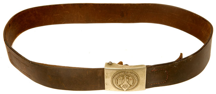 WWII Hitler Youth Belt & Buckle