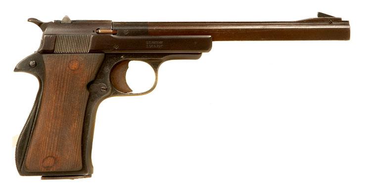 Deactivated Star .22 F series target pistol. - Modern ...