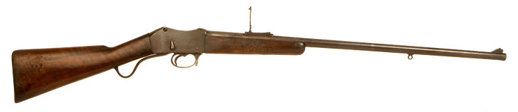 Deactivated Martini Henry rifle