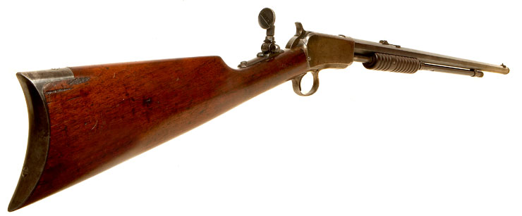 Winchester Model 1890 Pump Action Rifle - Live Firearms ...