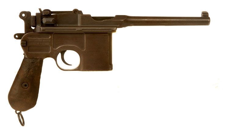 Deactivated WWI Mauser C96