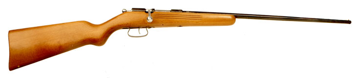 Deactivated 9mm Bolt Action Rifle