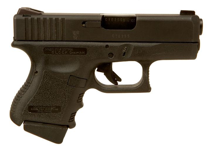 Deactivated Glock 26 Subcompact Pistol - Modern ...