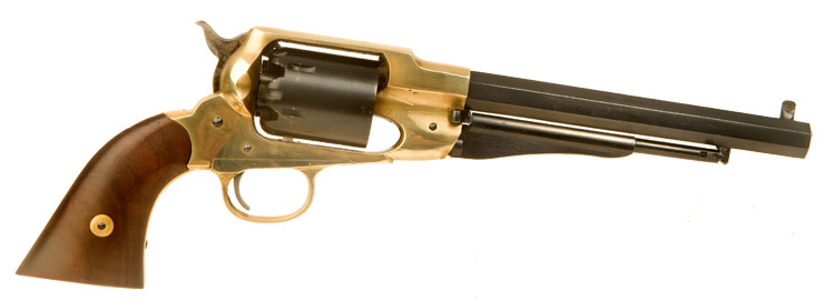 Deactivated Italian Remington 1858 Army Revolver