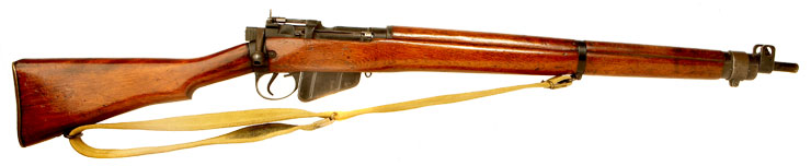 Deactivated WWII British Lee Enfield No4 MKI