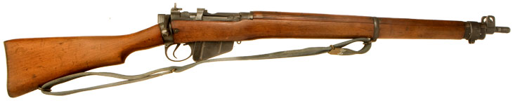 WWII Lee Enfield No4 MKI* Rifle - Lend Lease