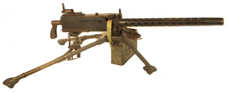Deactivated WWII US 30 Cal with accessories