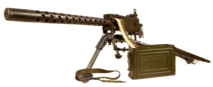 american machine guns ww2