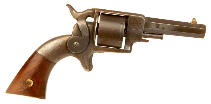 US Civil War Era, Allen & Wheelock  .32 Rimfire Side Hammer Revolver