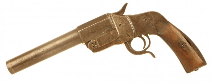 Deactivated WWI German M1894 Flare Pistol