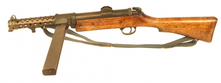 Deactivated WWII Lanchester MKI* SMG
